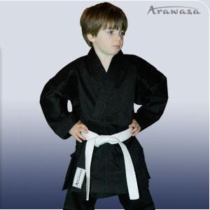 Кимоно для каратэ + пояс Arawaza Lightweight  EKO Black
